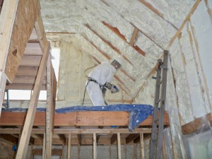 Closed cell spray foam insulation r value