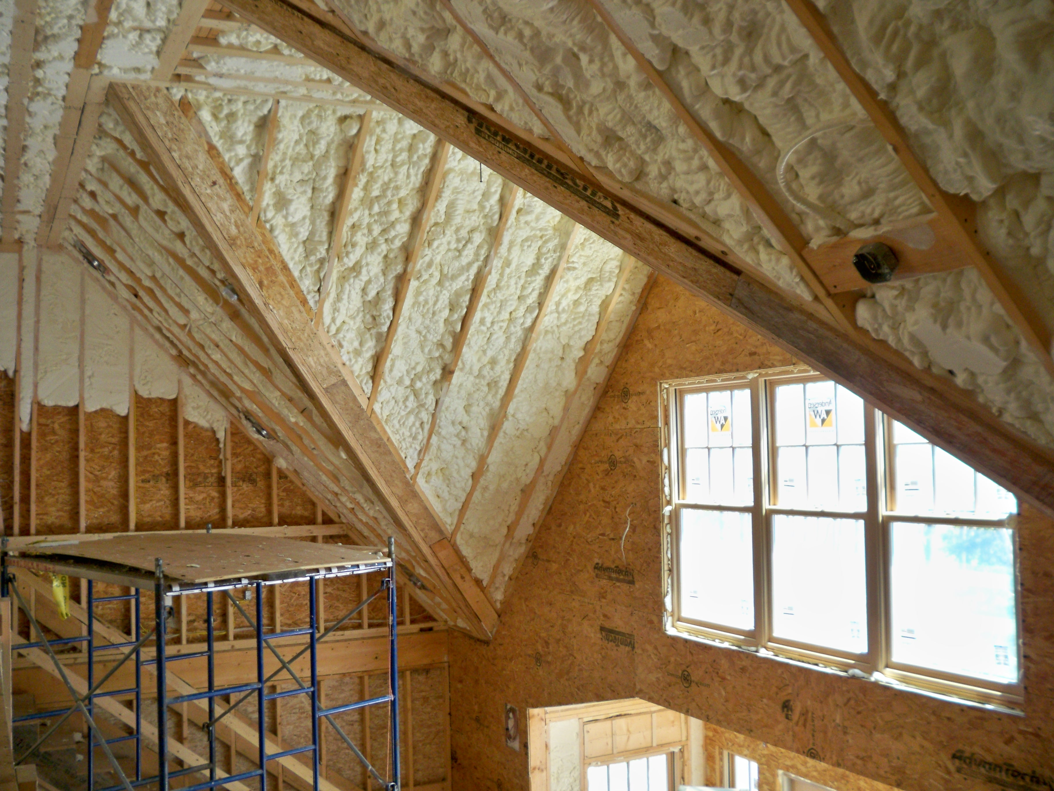 Installing Spray Foam Insulation In Portland Maine