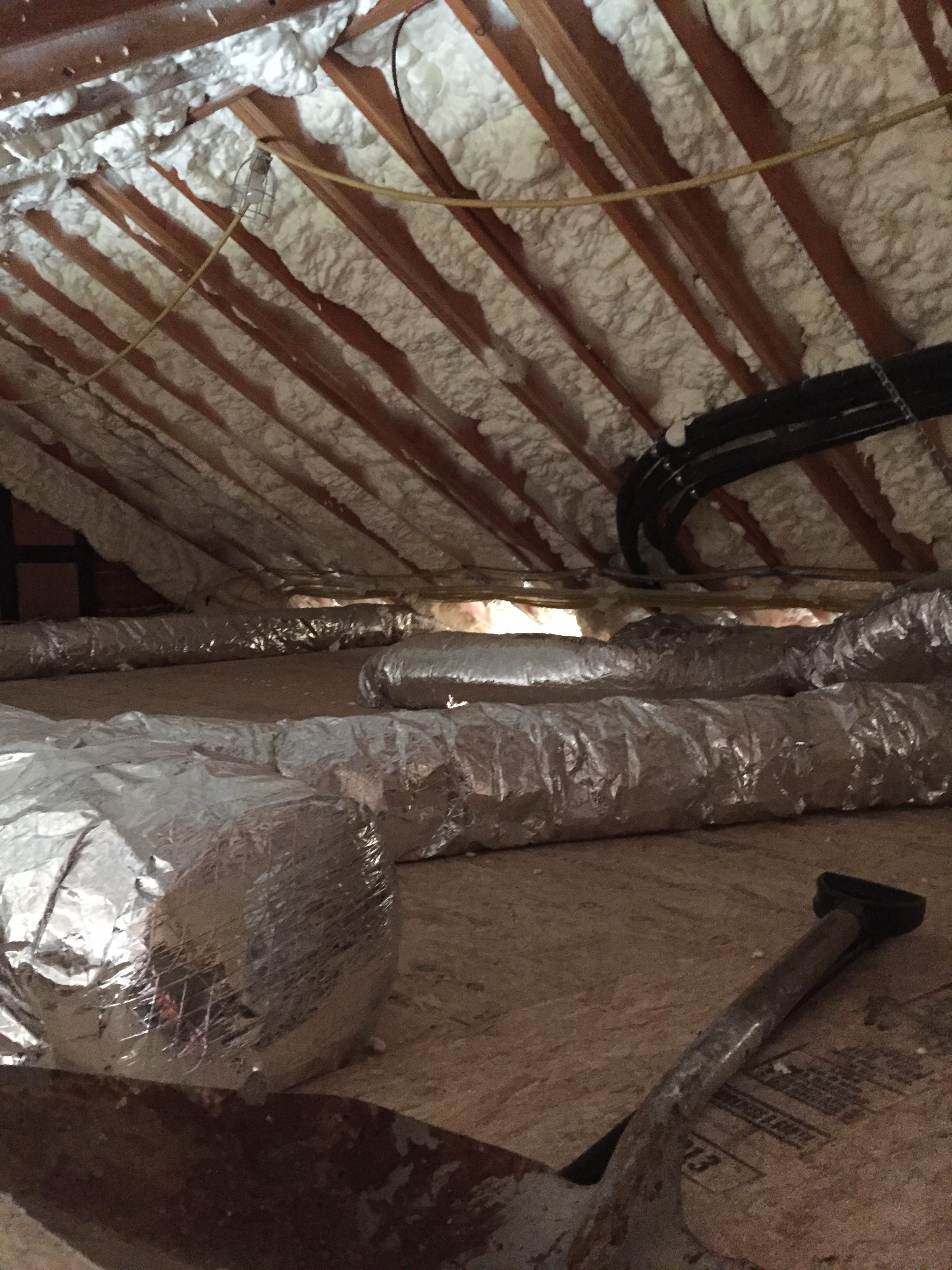 Maine Spray Foam Insulation Contractor Past Jobs